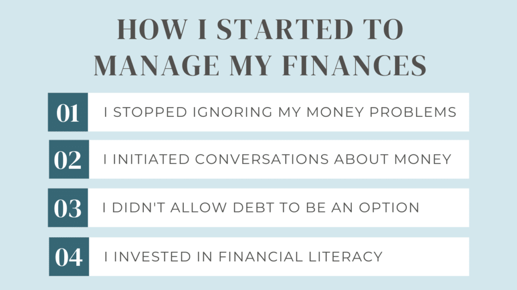financial wellness - how I started to manage my finances